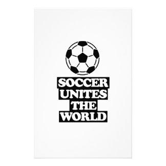 Papelaria esfrie e tendendo o DESIGN do futebol
