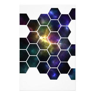 Papelaria espaço geométrico