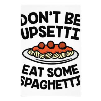 Papelaria Espaguetes de Upsetti