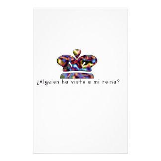 Papelaria Espanhol-Rainha