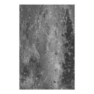 Papelaria Espirra da água da fonte (preto e branco)