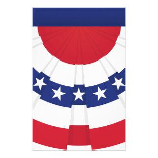 Papelaria Estamenha da bandeira americana