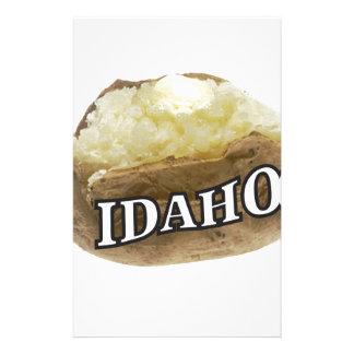 Papelaria Etiqueta da batata de Idaho
