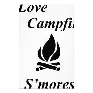 Papelaria Eu amo a fogueira S'mores
