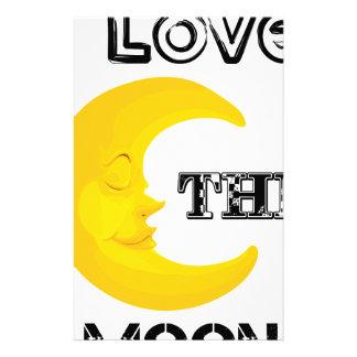 Papelaria Eu amo a lua