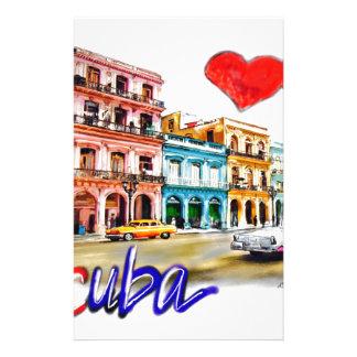 Papelaria Eu amo Cuba