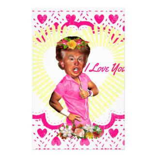 Papelaria eu amo Donald Trump