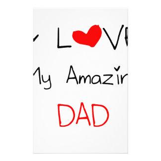 Papelaria Eu amo meu pai surpreendente