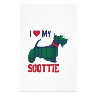 Papelaria Eu amo meu Scottie