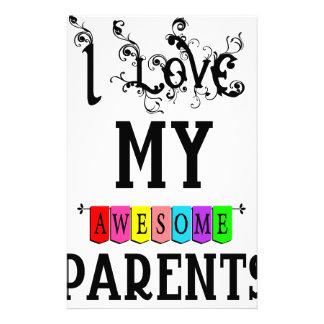 Papelaria Eu amo meus pais impressionantes (1)