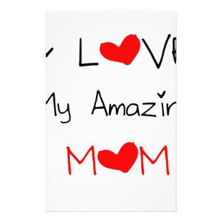 Papelaria Eu amo minha mamã surpreendente