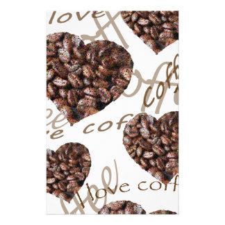"""Papelaria """"Eu amo o café! """""""