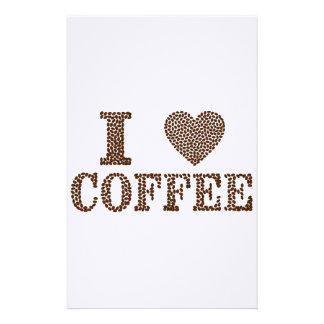 Papelaria eu amo o café, coffeeholic