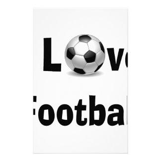 Papelaria Eu amo o futebol