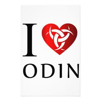 Papelaria Eu amo Odin