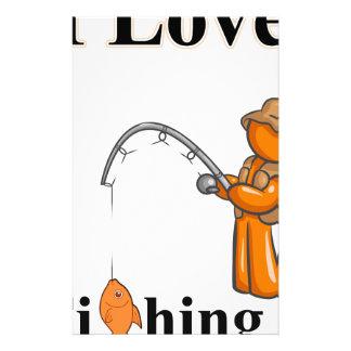 Papelaria Eu amo pescar