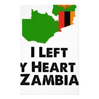 Papelaria Eu deixei meu coração na Zâmbia