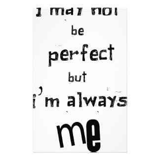 Papelaria eu não posso ser perfeito mas eu sou sempre mim