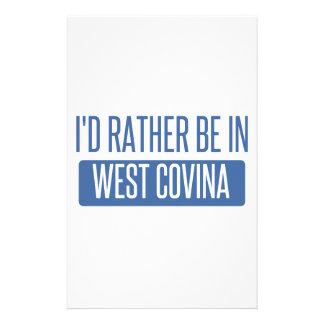 Papelaria Eu preferencialmente estaria em Covina ocidental