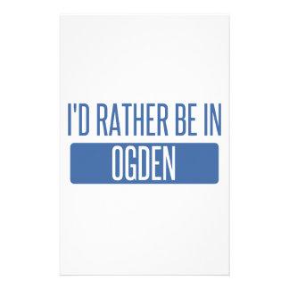 Papelaria Eu preferencialmente estaria em Ogden