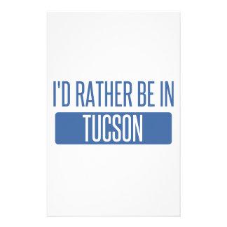 Papelaria Eu preferencialmente estaria em Tucson