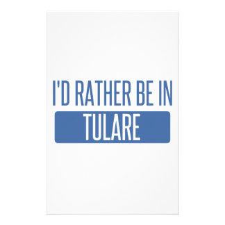 Papelaria Eu preferencialmente estaria em Tulare