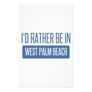 Papelaria Eu preferencialmente estaria em West Palm Beach