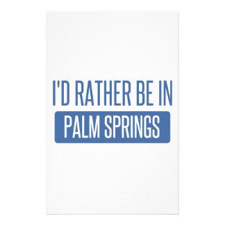 Papelaria Eu preferencialmente estaria no Palm Springs