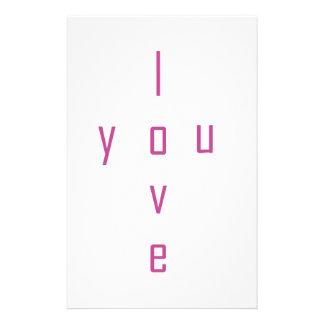 Papelaria Eu te amo
