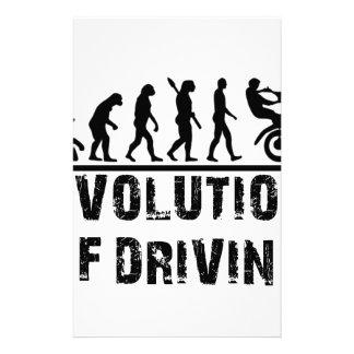 Papelaria Evolução da condução