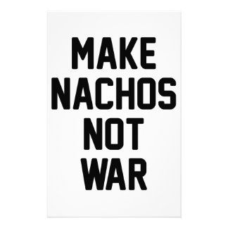 Papelaria Faça a guerra dos Nachos não
