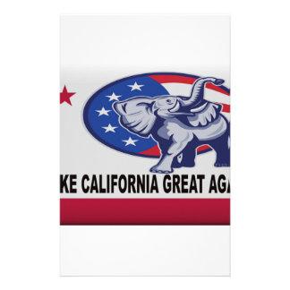 Papelaria Faça o excelente de Califórnia outra vez