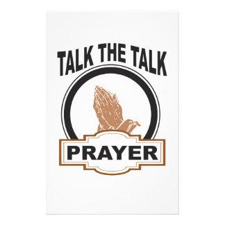 Papelaria fale a oração da conversa yeah