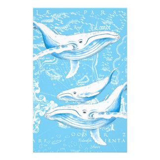 Papelaria Família das baleias azuis