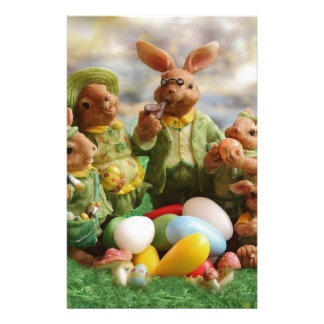 Papelaria Família do coelhinho da Páscoa