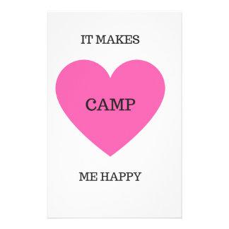 Papelaria Faz-me o acampamento feliz