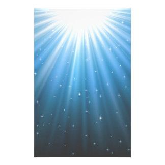 Papelaria Feixe de Sun dos raios inspirado