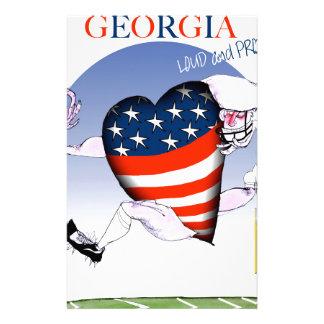Papelaria fernandes tony altos e orgulhosos de Geórgia,
