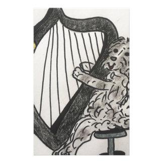 Papelaria Filhote de cachorro da harpa