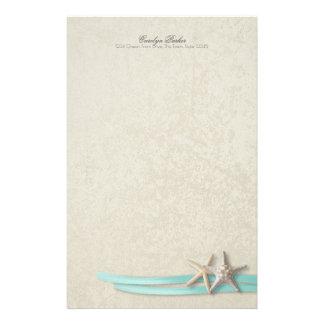 Papelaria Fita da estrela do mar e do Aqua