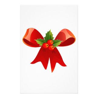 Papelaria Fita vermelha do Natal