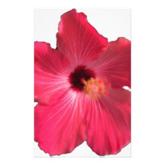 Papelaria Flor cor-de-rosa 201711e do hibiscus