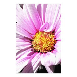Papelaria Flor cor-de-rosa bonita