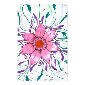 Papelaria Flor emplumada