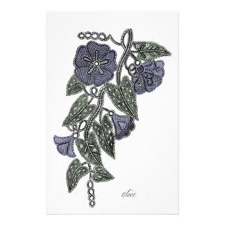 Papelaria Flores 2 do laço
