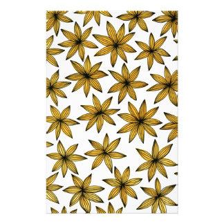 Papelaria Flores amarelas