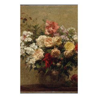 Papelaria Flores do verão - realismo