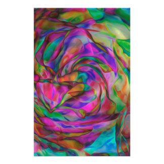 Papelaria Flores psicadélicos
