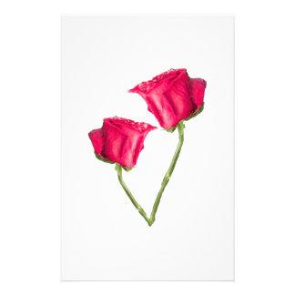 Papelaria Foto das rosas vermelhas