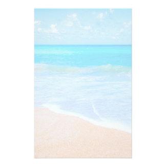 Papelaria Foto tropical da cena da praia surpreendente